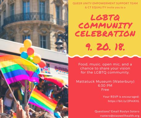 Social Media Invite for LGBTQ Community Celebration